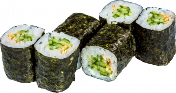 Autocollant Alimentation Sushi 3