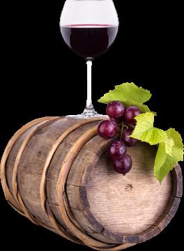 Autocollant Boisson Tonneau Vin