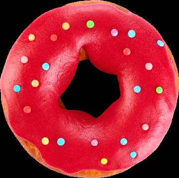 Autocollant Alimentation Gâteau Donuts 2