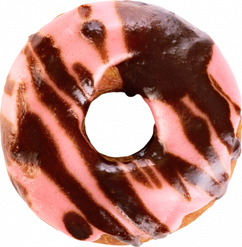 Autocollant Alimentation Gâteau Donuts 4