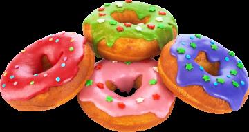 Autocollant Alimentation Gâteau Donuts 5