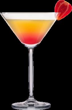 Autocollant Boisson Cocktail 1 1