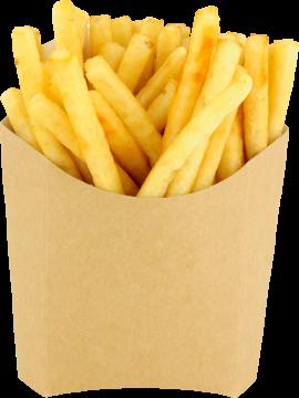 Autocollant Alimentation Frites Sachet 1