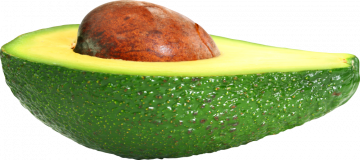 Autocollant Alimentation Légume Avocat 1
