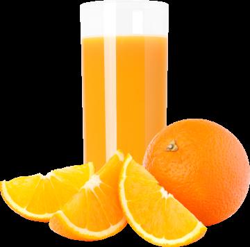 Autocollant Boisson Jus D'orange