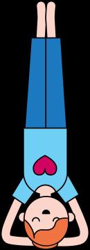 Autocollant Métier Yoga Position 9