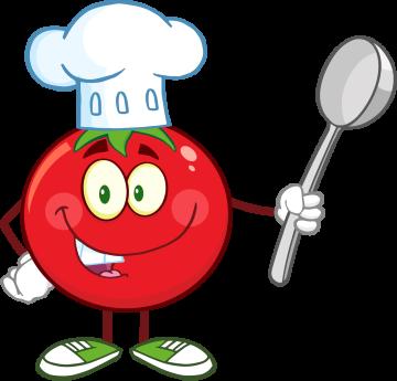 Autocollant Tomate Mascotte