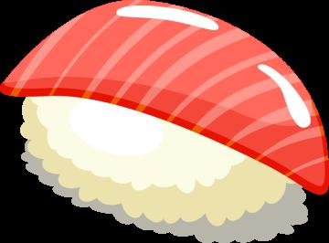 Autocollant Alimentation Japonais Sushi 2