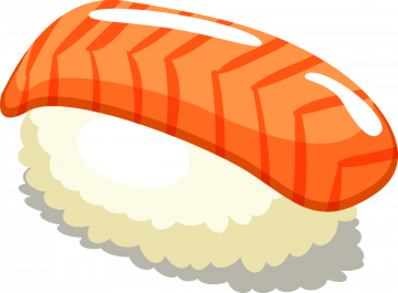 Autocollant Alimentation Japonais Sushi 3