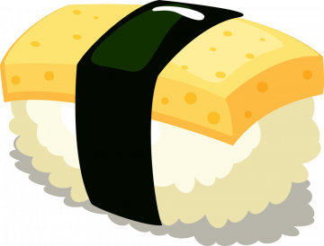 Autocollant Alimentation Japonais Sushi 4