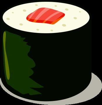 Autocollant Alimentation Japonais Sushi 5