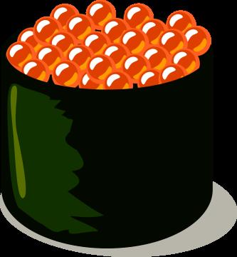 Autocollant Alimentation Japonais Sushi 6