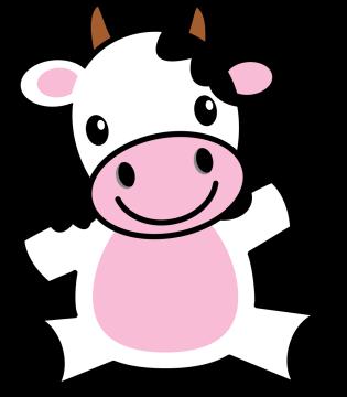Autocollant Animaux Vache 3