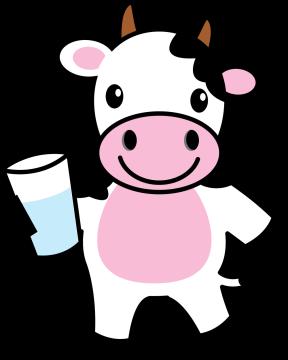 Autocollant Animaux Vache 4