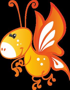 Autocollant Animaux Papillon