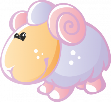 Autocollant Animaux Mouton