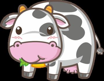 Autocollant Animaux Vache 5