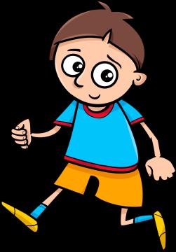 Autocollant Enfants Petit Garçon 9