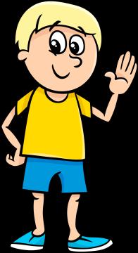 Autocollant Enfants Petit Garçon 10