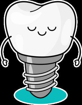 Autocollant Logo Dentiste Dent 1