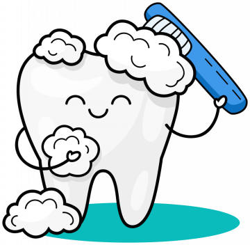 Autocollant Logo Dentiste Dent 2