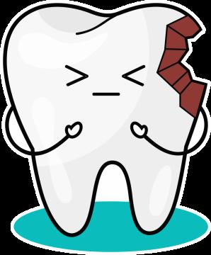 Autocollant Logo Dentiste Dent 4