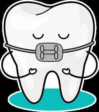 Autocollant Logo Dentiste Dent 6