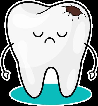 Autocollant Logo Dentiste Dent 7