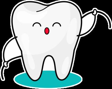Autocollant Logo Dentiste Dent 9