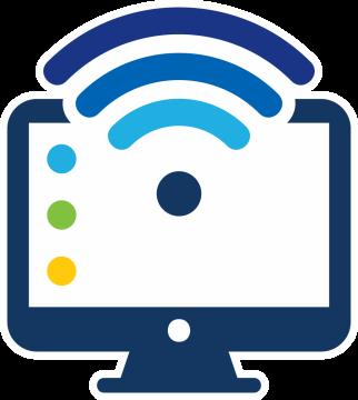 Autocollant Métier Informatique Wifi 2