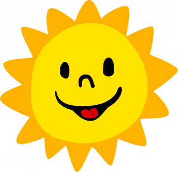 Autocollant Soleil Nature Logo 5
