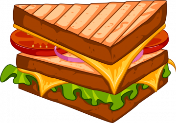 Autocollant Fast Food Hamburger 3