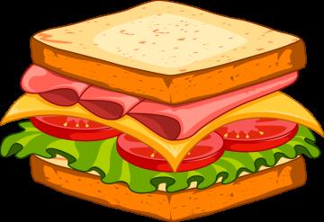 Autocollant Fast Food Sandwich 13