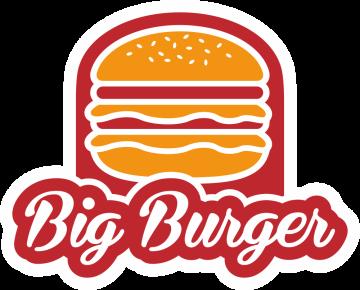 Autocollant Fast Food Big Burger