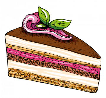 Autocollant Pâtisserie Gâteau 10