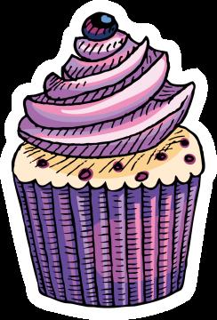 Autocollant Pâtisserie Cupcake 7