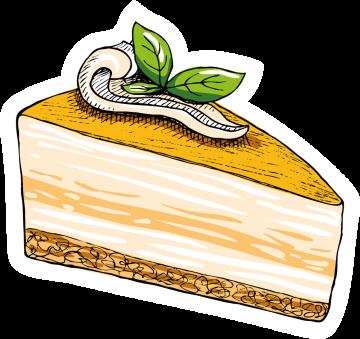 Autocollant Pâtisserie Gâteau 11
