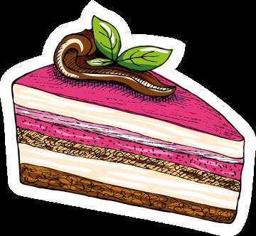Autocollant Pâtisserie Gâteau 12