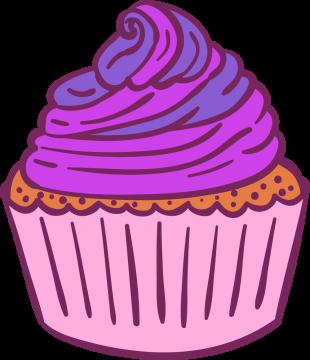 Autocollant Pâtisserie Cupcake 11