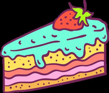 Autocollant Pâtisserie Gâteau 16