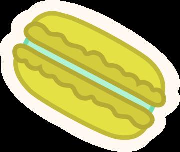 Autocollant Pâtisserie Macaron 8