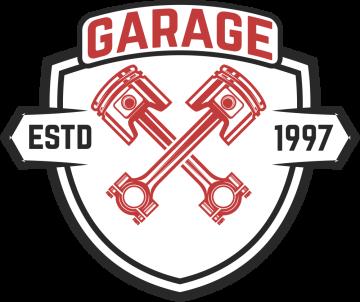 Autocollant Logo Garage Mécanicien 2