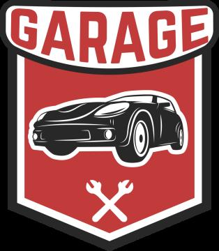 Autocollant Logo Garage Mécanicien 3