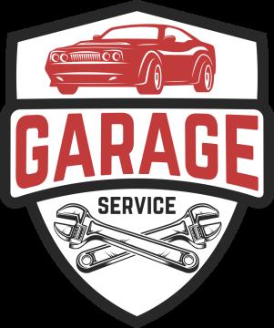 Autocollant Logo Garage Mécanicien 6