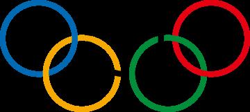 Autocollant Logo Jeux Olympiques