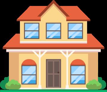 Autocollant Maison Immobilier 1