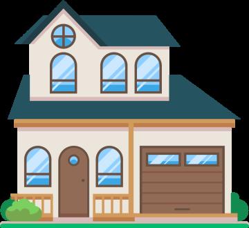 Autocollant Maison Immobilier 2