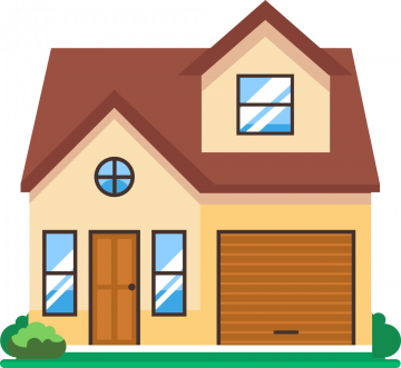 Autocollant Maison Immobilier 3
