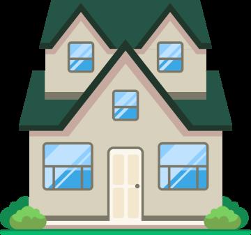 Autocollant Maison Immobilier 4