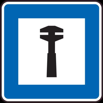 Autocollant Indication Assistance Routière